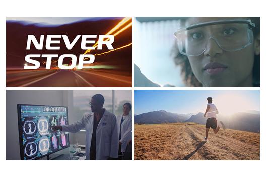 [Figure]NEVER STOP
