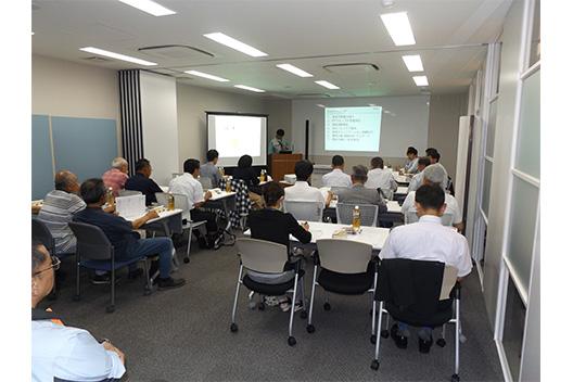 [写真]環境報告会(神奈川県開成町)