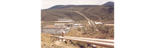 [picture] Kenya : Olkaria geothermal electric power generator project