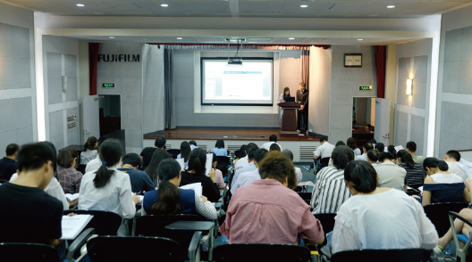 [Image]A meeting at FUJIFILM Imaging Systems (Suzhou) Co., Ltd.