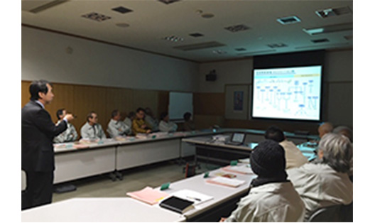[picture]Environmental Dialogue Meetings(Yoshida-Minami Factory)