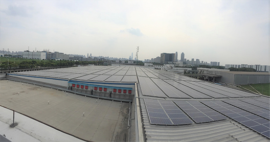 [Picture]Solar power generation system installed in FUJIFILM Printing Plate (China) Co., Ltd.
