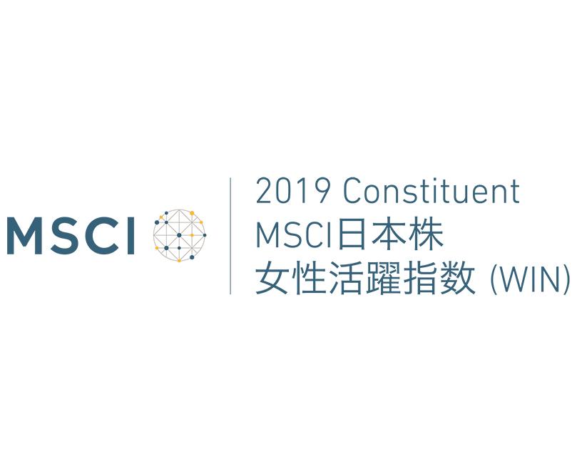 MSCI日本株 女性活躍指数