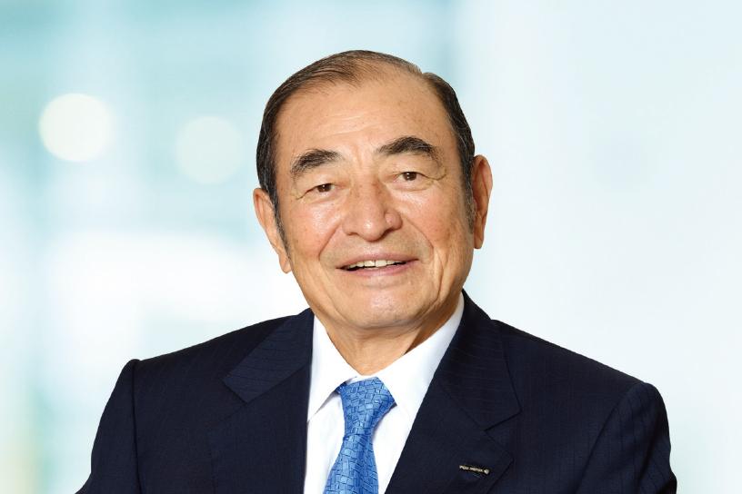 [写真]代表取締役会長?CEO 古森重隆