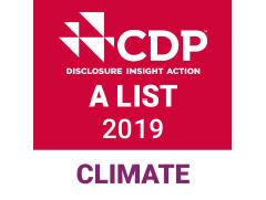 [ロゴ] CDP気候変動Aリスト