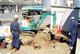 [写真]土壌浄化工事