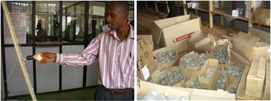[写真]ルワンダ:CFLエネルギー効率プロジェクト