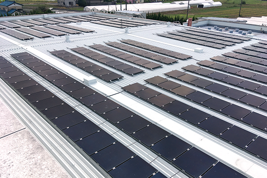[Picture]Photovoltaic power facility in FFTP Sano Site
