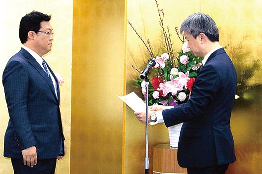 [写真]富士フイルム九州「エネルギー管理優良工場等表彰『九州経済産業局長賞』
