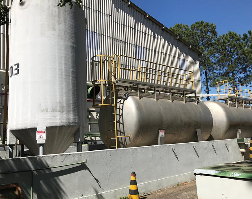 [Image]Rainwater storage facility (FUJIFILM do Brasil Ltda.)