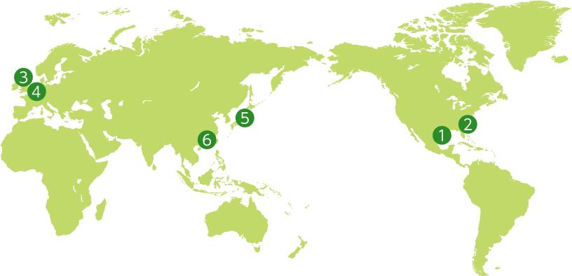 [Image]Environmental Initiatives in Each Fujifilm Group Site