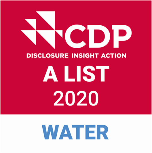 [Logo]CDP Water Security A List