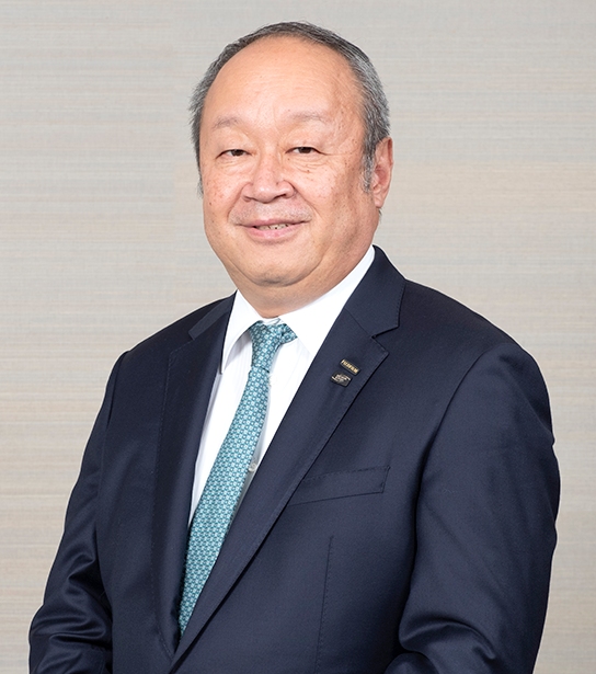 [photograph]Teiichi Goto President and CEO