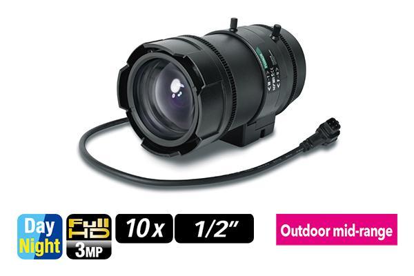 [photo] DV10x8SR4A-1 / SA1 / SA1L varifocal lens on its side
