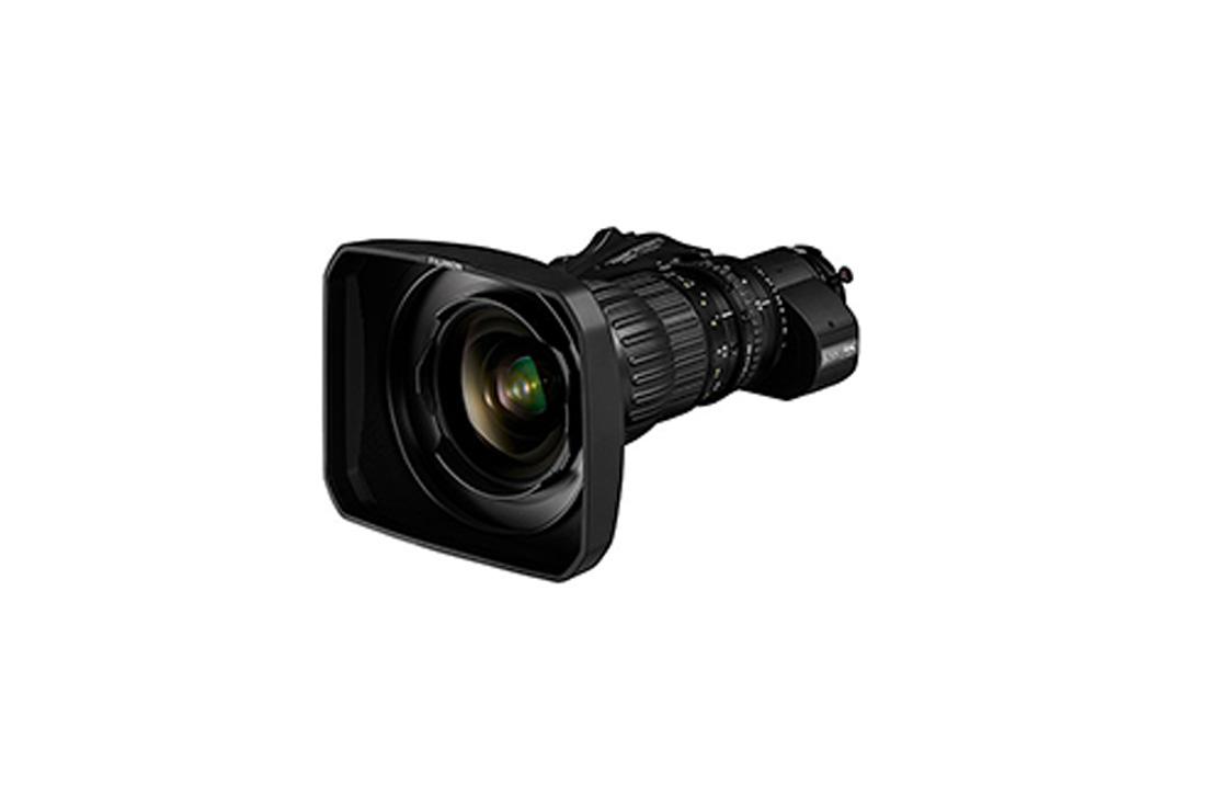 "[Photo]4K camera compatible portable broadcast zoom lens ""FUJINON UA14 x 4.5"""