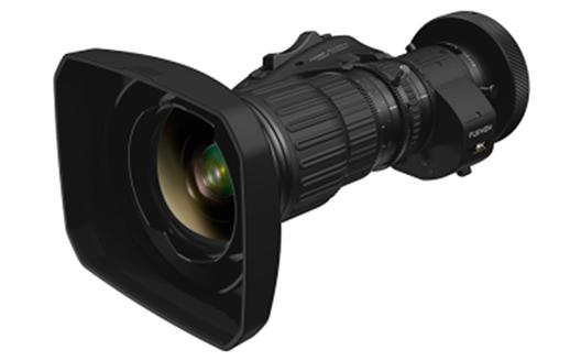 """8K-compatible broadcast zoom lens  """"FUJINON HP12×7.6ERD-S9"""""""