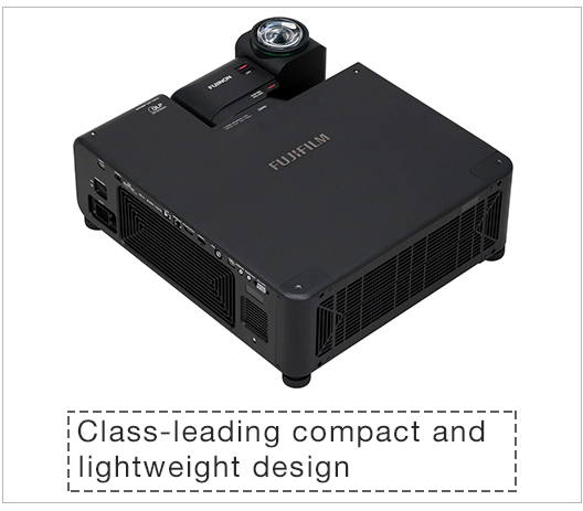 [Image]Class-leading compact and lightweight design