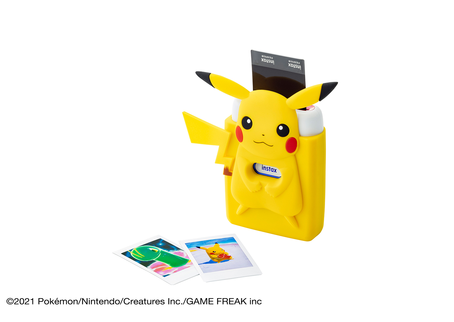 [Product Images]Special bundle kit with specially designed silicone case featuring Pikachu