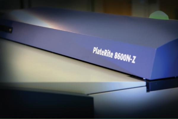 [photo] Luxel PLATESETTER PlateRite 8600N-Z