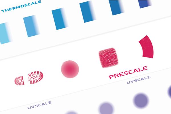 [imagen] Soluciones de medición para películas con muestras THERMOSCALE, PRESCALE y UV Scale