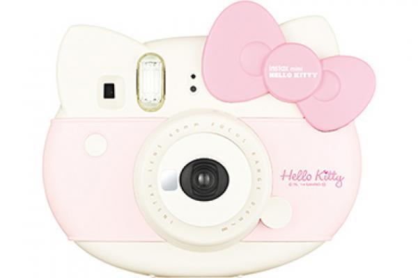 [photo] Fujifilm Instax Mini Hello Kitty camera in white