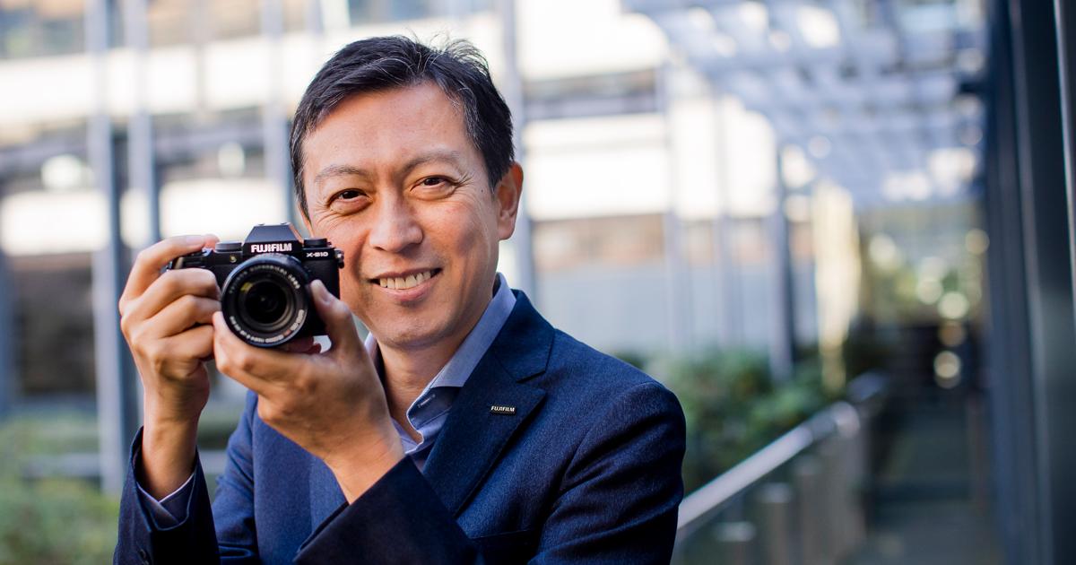 Toshi Iida, Präsident und Geschäftsführer der Fujifilm Europe GmbH