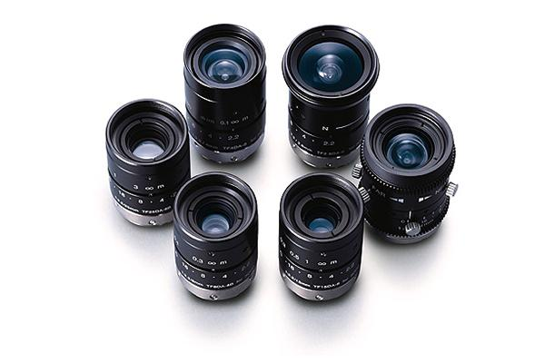 [photo] TF Series lenses standing upright and grouped together in a circle
