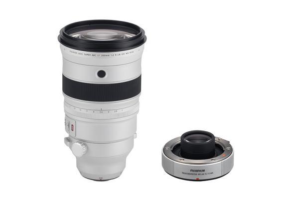[photo] Fujifilm XF200mmF2 R prime lens - White