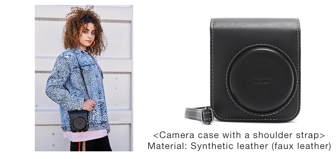 [Image]Camera case with a shoulder strap