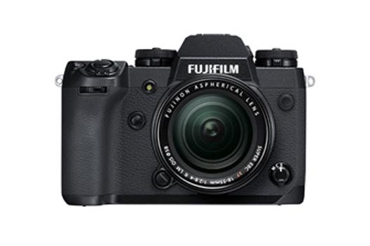 "[Photo]Mirrorless digital camera ""FUJIFILM X-H1"""