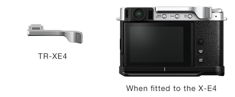 "[Image]Thumb rest ""TR-XE4"" (designed specifically for the X-E4)"