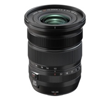"[image]Interchangeable lens for X series digital cameras ""FUJINON Lens XF10-24mmF4 R OIS WR"""
