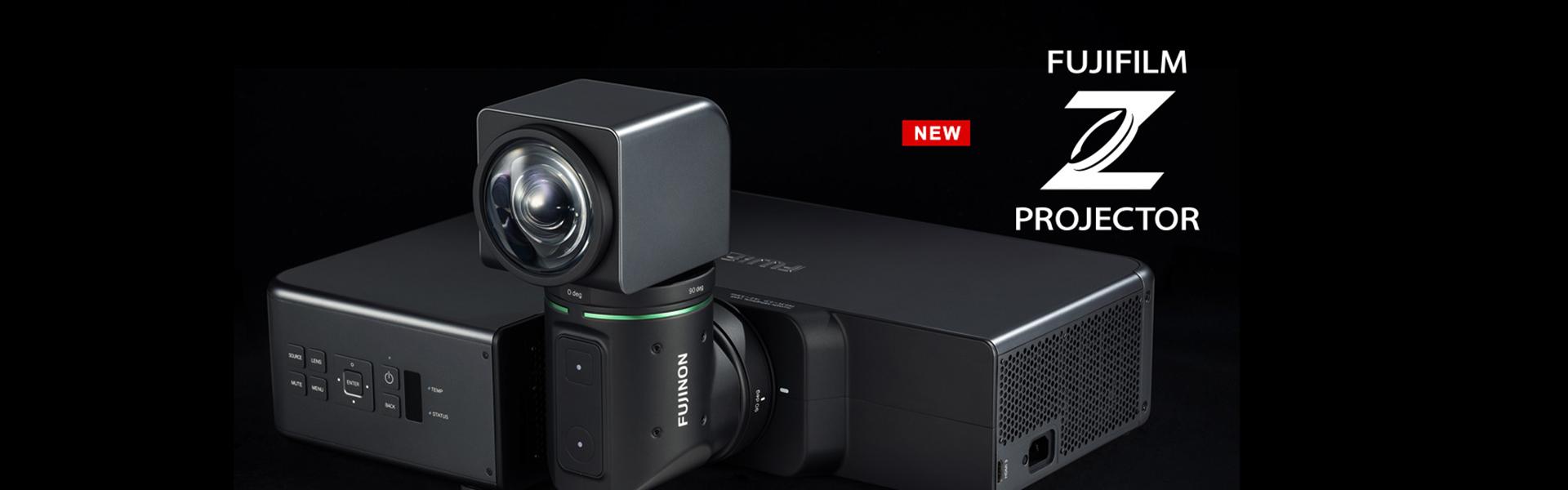 [photo] Fujifilm Z Projector FP-Z5000 in front of black background