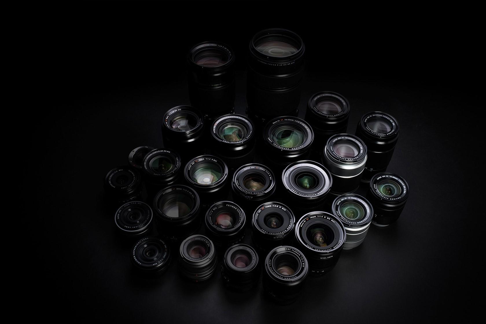 Colagem de lentes FUJINON de alto desempenho