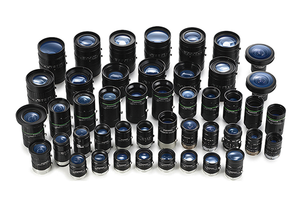 [photo] An assortment of Fujifilm machine vision lenses