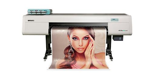 Visão frontal da impressora Acuity LED 1600 II