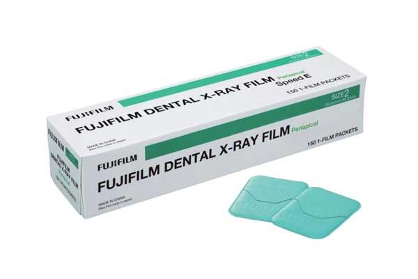 [foto] Caixa do FUJIFILM DENTAL X-RAY FILM em tamanhos maiores e menores