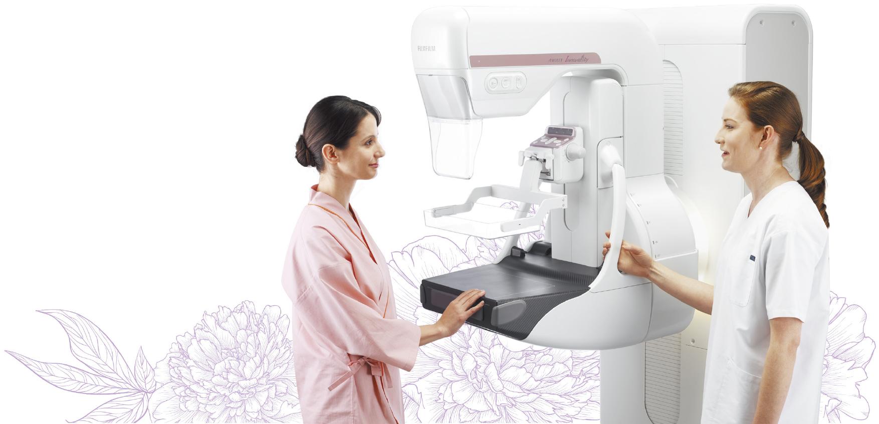 [foto] Um paciente e um médico durante o uso do Amulet Harmony