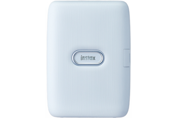 [photo] instax mini Link smartphone printer in white color