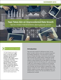 A Tape está de olho no aumento de dados sem precedentes