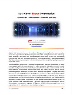 Data Centers enormes criando uma onda de calor em hiperescala