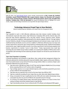 Avanços tecnológicos impelem a fita para novos mercados