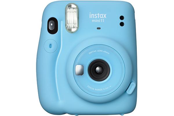 Câmera Mini 11 azul bebê