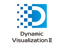 [logo] Dynamic Visualization II in blue