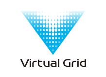 [logo] Virtual Grid in blue