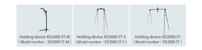 [imagem] Três modelos diferentes de suporte para o FDR Xair