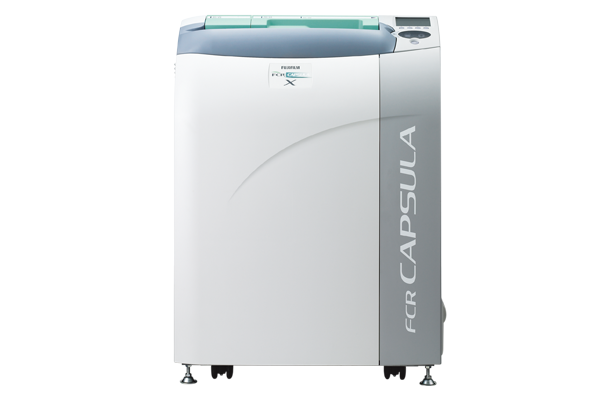 [imagem] Logotipo do FCRAC CAPSULA X à esquerda e FCR CAPSULA X em branco à direita