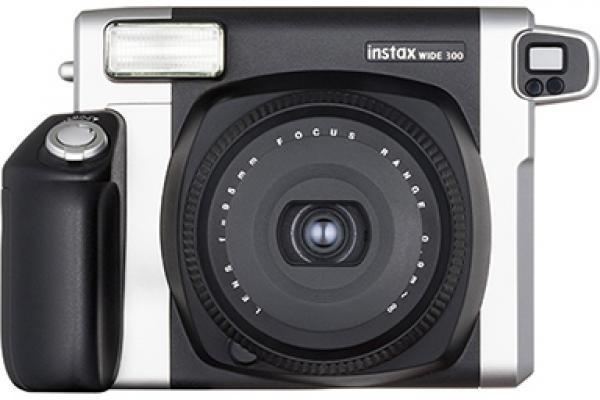 Câmera WIDE 300 preta e prateada