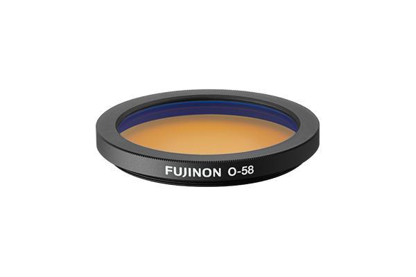 [photo] An Orange filter for Techno-Stabi™ Series binoculars