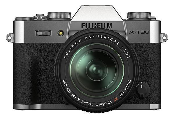 [foto] Sistema de câmera digital FUJIFILM X-T30 II - Prata e preta